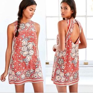 {ecoté} Guinevere Open Back Printed Mini